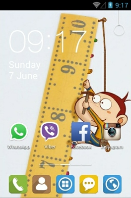 android theme 'Climber'