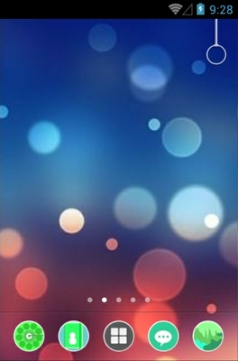 android theme 'Light Abstract'