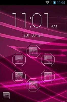 android theme 'Glass'