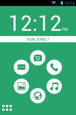 android theme 'Basic Green'