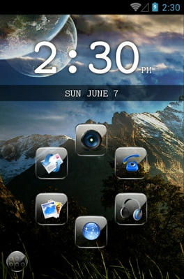 android theme 'SL Glint'