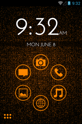 android theme 'Orange'