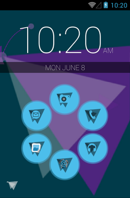 android theme 'Origami'