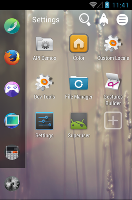 Firefox os Android Theme For Smart Launcher 2 | androidlooks com