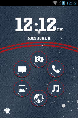 android theme 'Jeans'