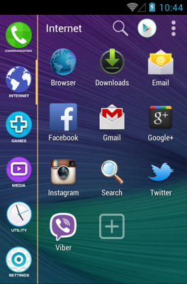 Note 4 android theme application menu