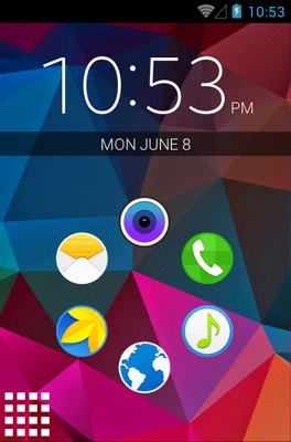 android theme 'S5'