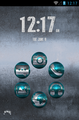 android theme 'STEEL'