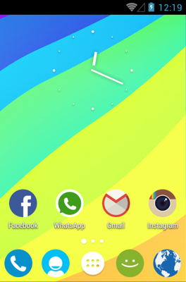 android theme 'Coconut'