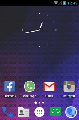 android theme 'Mianogen'