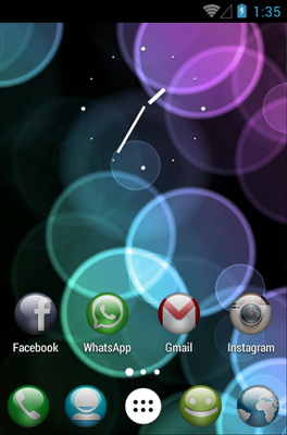 android theme 'Sphere'