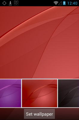 Z3  android theme wallpaper