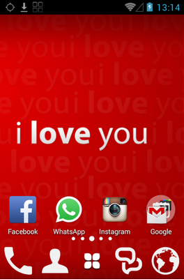 android theme 'Valentines day'