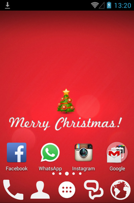 Xmas android theme