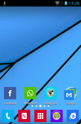 android theme 'Lumia'
