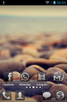 android theme 'Minimal'
