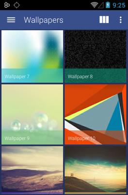 Axiom android theme wallpaper