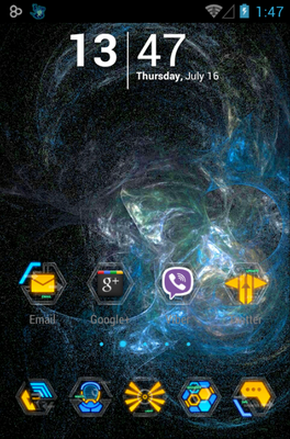 Comb android theme