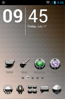 Magic android theme