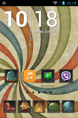 android theme 'Carbinet'