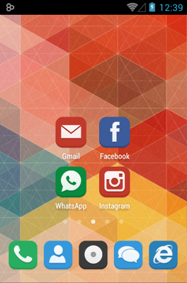 android theme 'FLAT'