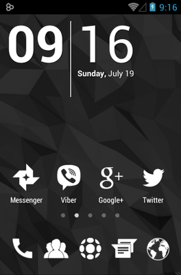android theme 'Whicons'