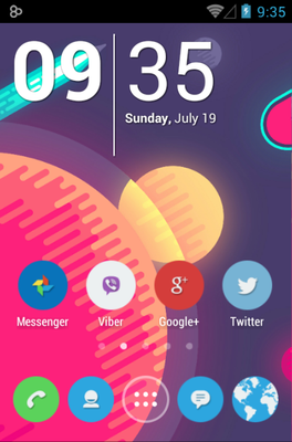 android theme 'Zolo'