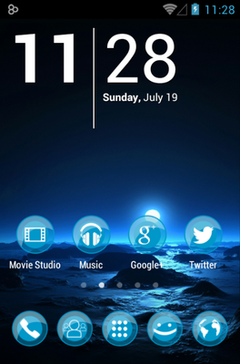 android theme 'ICEE'