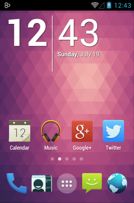android theme 'Pride'