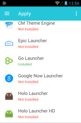 Pride New android theme launcher menu