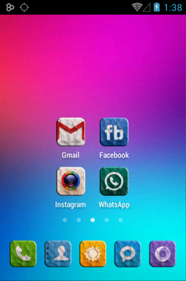 CONTRITY android theme home screen