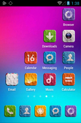 CONTRITY android theme application menu