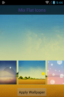 Mix Flat android theme wallpaper