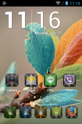 LUMEN android theme