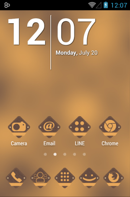 android theme 'VinBadges'