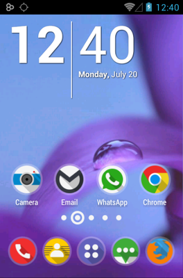 android theme 'AroundLite'