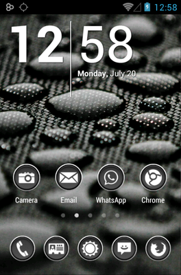 android theme 'Phoney White'