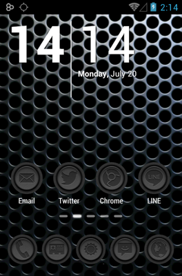 Phoney android theme