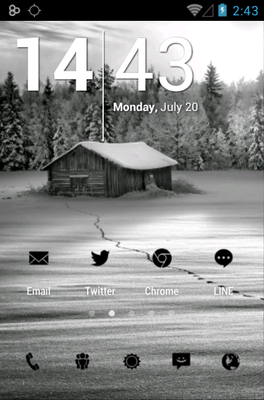 android theme 'Tiny Black'