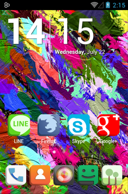 android theme 'fl3D'