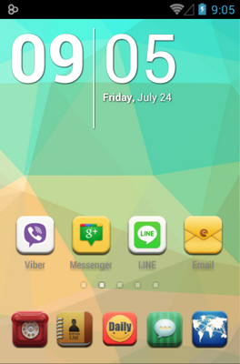 android theme 'Daily Dante'