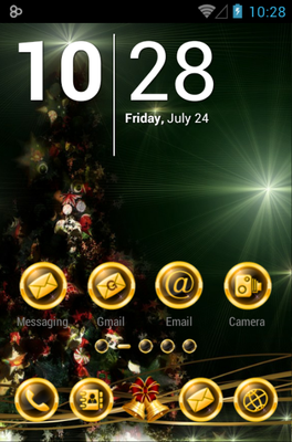 BlackXmas android theme