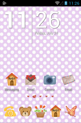 android theme 'Love House'