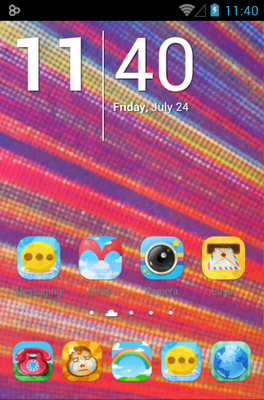 android theme 'Amusing'