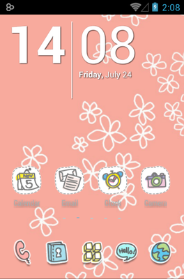 android theme 'TossyWay'