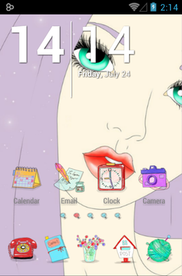 android theme 'Atelier'