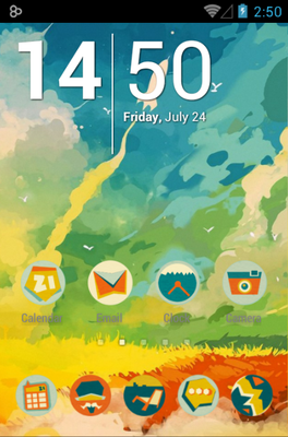 android theme 'Boy'