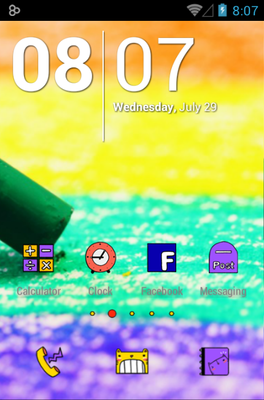 android theme 'Let's Go Play'