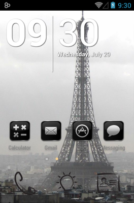 android theme 'Paris'