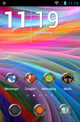 android theme 'Krom'